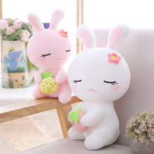 Load image into Gallery viewer, Do you like pink bunny plushie or white bunny plushie more?