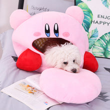 Load image into Gallery viewer, cute kirby pillow plushie