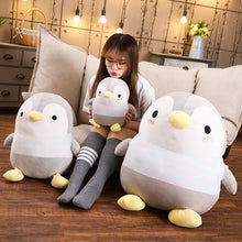 Load image into Gallery viewer, Get this cute penguin plushie for your family or partner as it symbolizes togetherness and community.