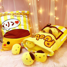 Load image into Gallery viewer, Cute Chicken Pudding Plushie Snack Bag 10*10CM