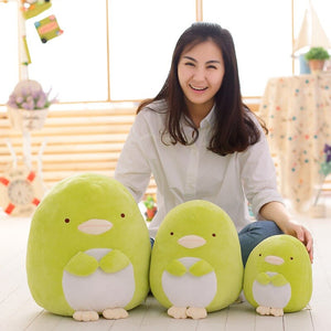 Green penguin plushies