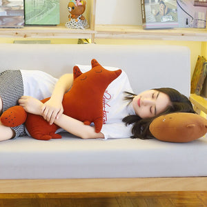 cute fox plushie