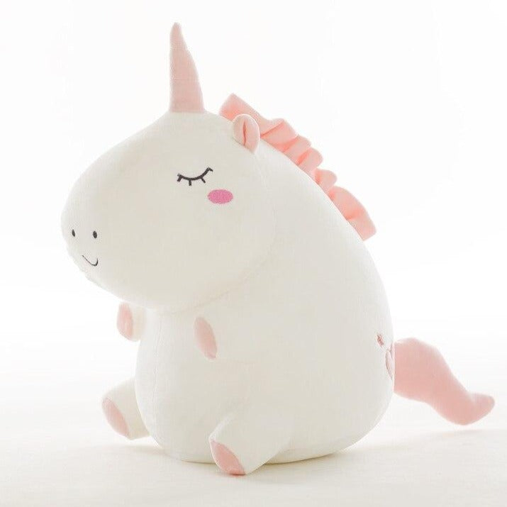 cute fat unicorn stuffed animal perfect for kids and partner