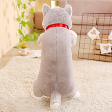 Load image into Gallery viewer, Cute grey husky plushie to make your day!