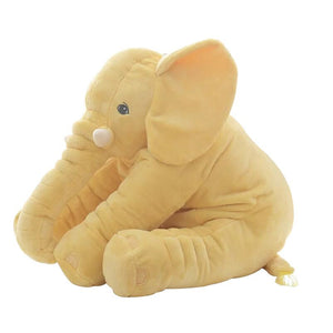 cute elephant plush in yellow