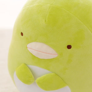 Cute green penguin plushie