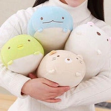 Load image into Gallery viewer, family of cute sumikko gurashi plushies