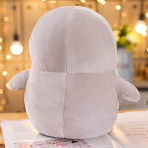 This cute grey penguin plushie is just way too adorable to resist.