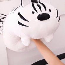 Load image into Gallery viewer, white tiger plush toy punchy, squishy and cute for you to take home