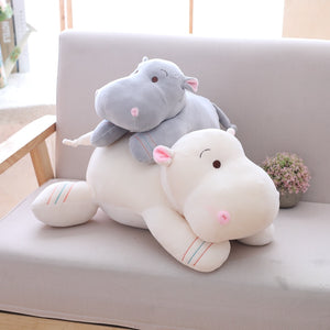 cute baby hippos waiting for their owner