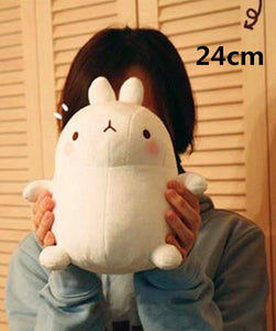 cute molang rabbit plushie round and cute with short legs