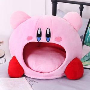 cute kirby pillow plushie