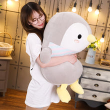 Load image into Gallery viewer, This cute grey penguin plushie is just way too adorable to resist.