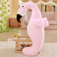 Load image into Gallery viewer, Get this cute pink flamingo plushie for your friends who need or will love them.