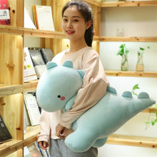 Load image into Gallery viewer, cute blue dinosaur plushie