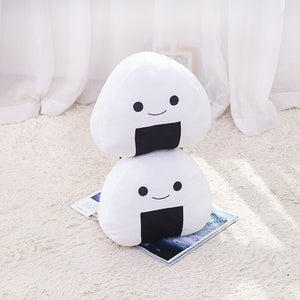 Japanese Sushi White rice roll plushie. How irresistible! Collect this and make your mini Japan world.