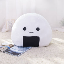Load image into Gallery viewer, Get this sushi rice balls plushie for your friends who can't stop having Japanese sushi for lunch and dinner.