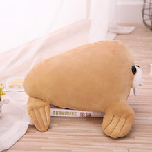 Load image into Gallery viewer, Give me some love and hugs please, say baby walrus plushie