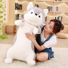Load image into Gallery viewer, How adorable this cute husky plushie is? Would you take him home?