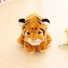Load image into Gallery viewer, brown tiger cub plushie with cute expression for your tiger king dream