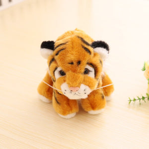 brown tiger cub plushie with cute expression for your tiger king dream