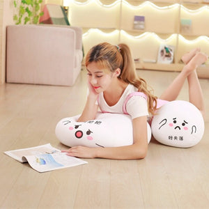 Cute dumpling plushie so you can lie on the floor more comfortably!