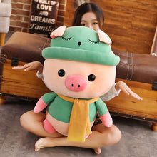 Load image into Gallery viewer, big green pig plushie