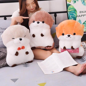 cute sea otter plushie with three different colours up for grab