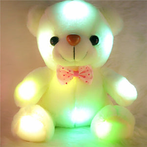 Cute Glowing Teddy Bear Plushie to brighten up your day!