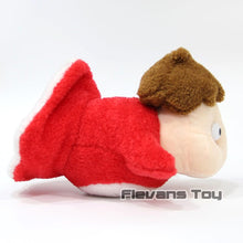 Load image into Gallery viewer, side view of cute ponyo studio ghibli plushie