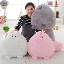 Load image into Gallery viewer, Super bloated and fluffy Persian cat plushie!