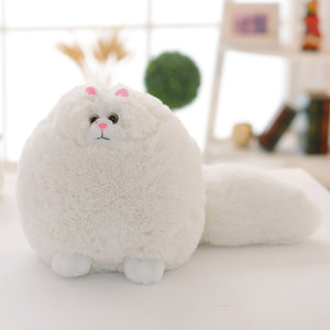 This cute fluffy Persian cat plushie is definitely for the cat lovers! Great gift idea for people allergic to cats