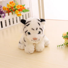 Load image into Gallery viewer, white tiger cub plush toy rare find in the wild