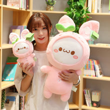 Load image into Gallery viewer, Cute dumpling plushie in pink!