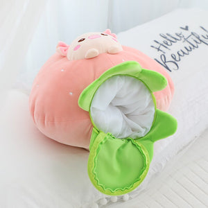 pig in strawberry plushie