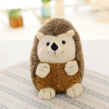 Load image into Gallery viewer, smiley cute hedgehog plushie standing
