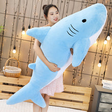 Load image into Gallery viewer, Giant Biting Shark Plushie 50-120cm