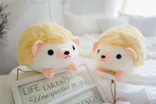 Load image into Gallery viewer, cute orange hedgehog plushie perfect cuddly toy for kids or partner
