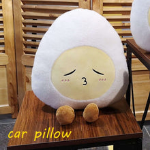Load image into Gallery viewer, Grab this Egg-stravagantly cute plushie for the egg lovers!