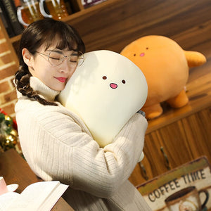 white squishy plushie pillow that is extremely cute and squishy
