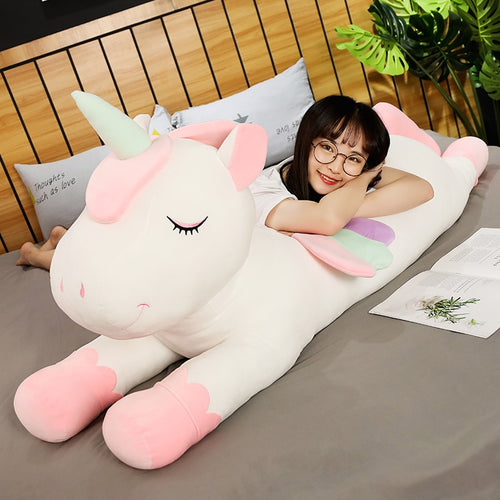 Our cute unicorn plushie grows as you grow too! You can still love and own them regardless of your age. Get this cute unicorn plushie for your friends and family to make them feel loved.