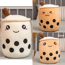 Load image into Gallery viewer, Bubble Milk Tea with Boba Plushie 25-50CM