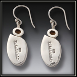 Enigma Mammoth Ivory Goddess Citrine Drop Earrings