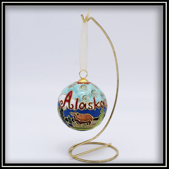 Wildlife Scene Ornament