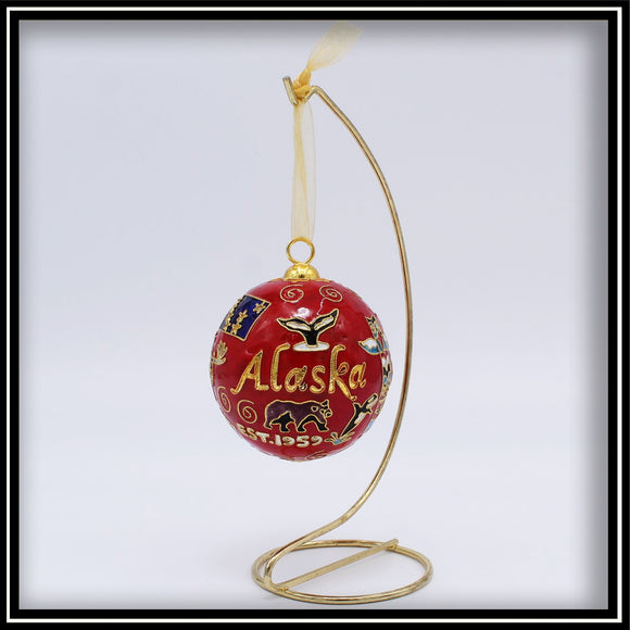 Alaska Icons Ornament