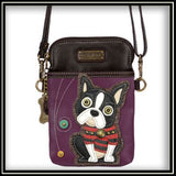 Boston Terrier - Cell Phone Crossbody