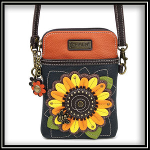 Sunflower - Cell Phone Crossbody