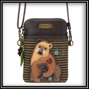 Two Bears - Cell Phone Crossbody