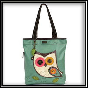 Hoohoo Owl - Everyday Zip Tote