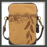 Eagle Safari Canvas - Cell Phone Crossbody